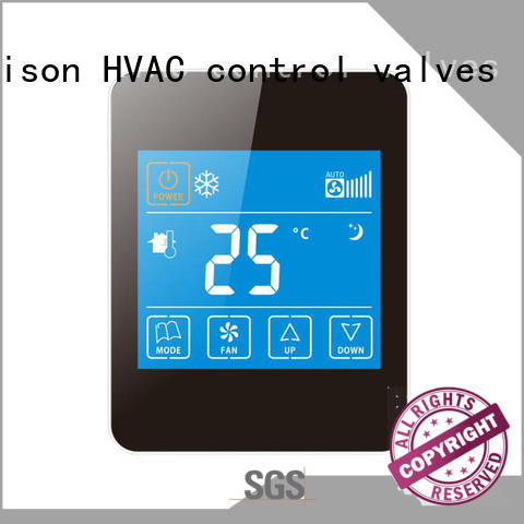 Edison screen hvac thermostat wholesale for shopping malls
