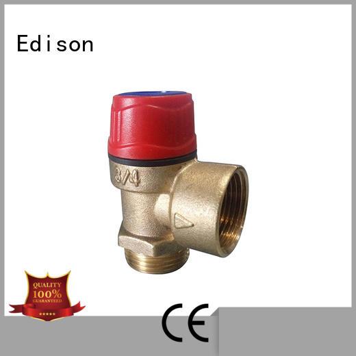 Edison regulator pressure valve supplier for shop