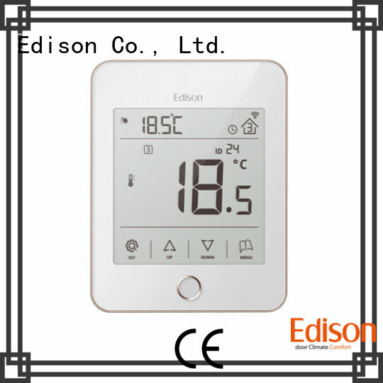 Edison high quality central heating thermostat series for industry