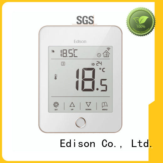 quality central heating thermostat electric factory Edison
