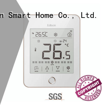 Edison room wireless thermostat series for hotels