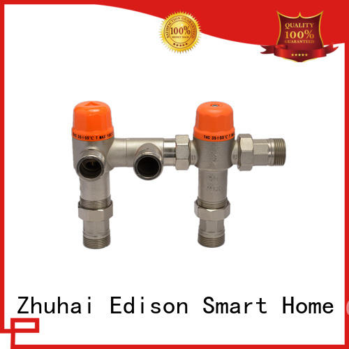 Edison durable thermostatic control valve production for hardware store