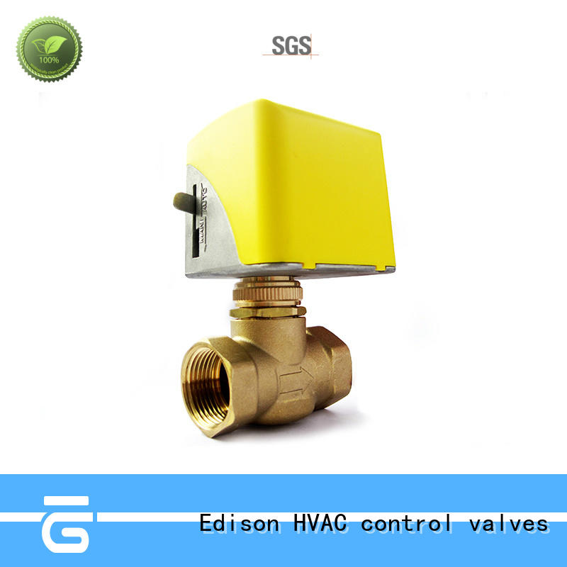 cooling motor operated valve production for hardware store Edison