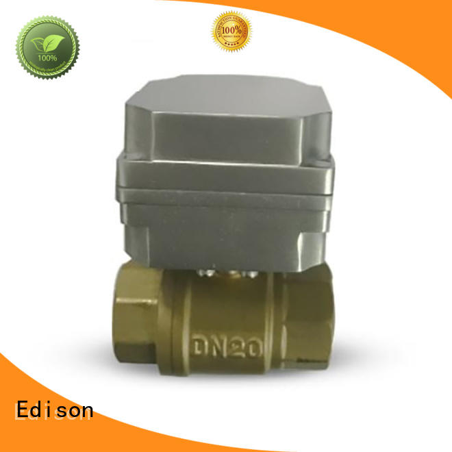 quality electric ball valve valve for industry Edison