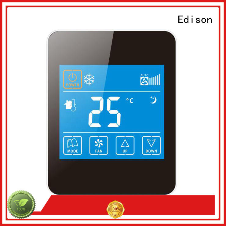 Edison thermostat room thermostat supplier for larger family homes