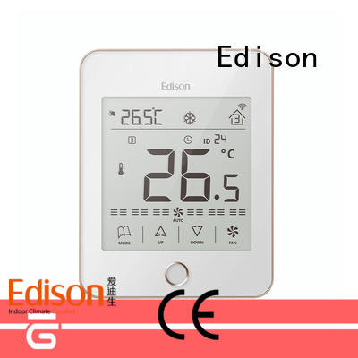 Edison touch digital thermostat wholesale for hotels