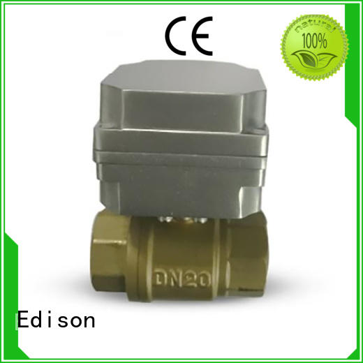 Wholesale lubrication stable motorized ball valve Edison Brand