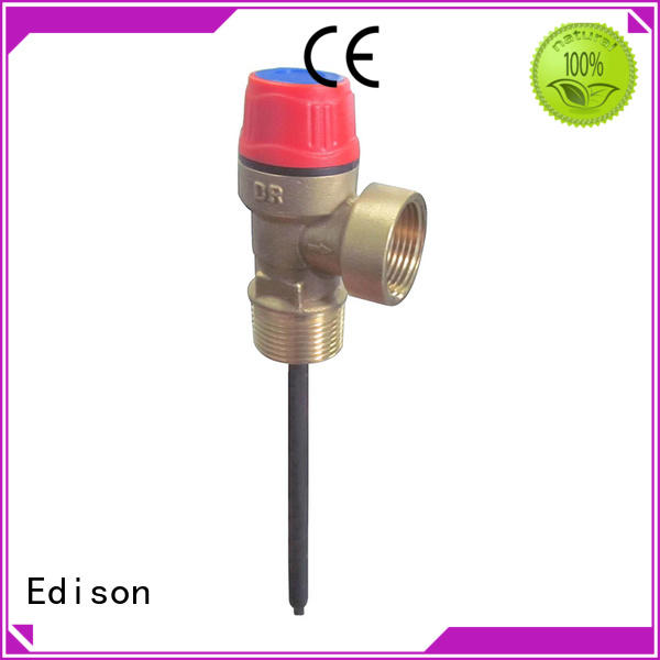Edison relief pressure release valve expansion for hardware store