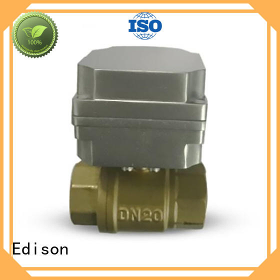 Edison ball motorized ball valve wholesale for shop