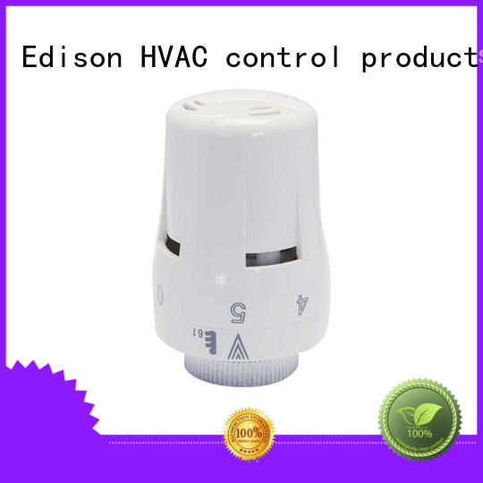 Edison pack corner radiator valves series for shopping malls
