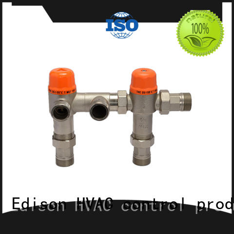 Edison high quality tempered water control valve thermostatic for shopping malls