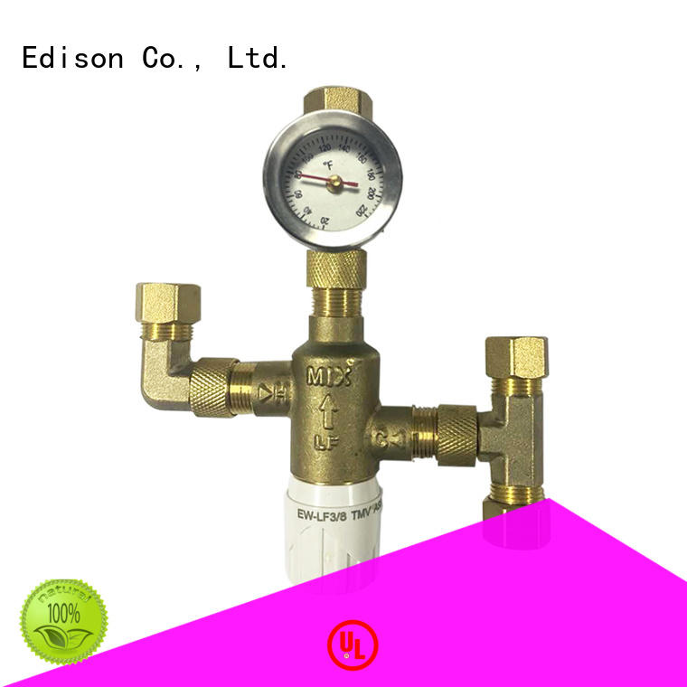 regulating 3 way thermostatic mixing valve production for shopping malls Edison
