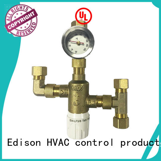 sale hot water tempering valve production for shopping malls Edison