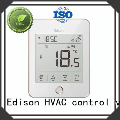Edison electric heating thermostat wholesale for electric heating control system