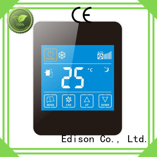 touch room thermostat supplier for shopping malls Edison