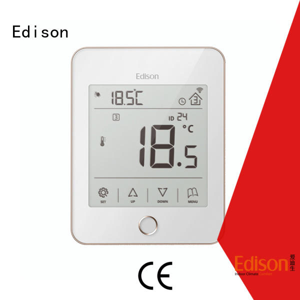 Edison stably heating room thermostat wholesale for industry