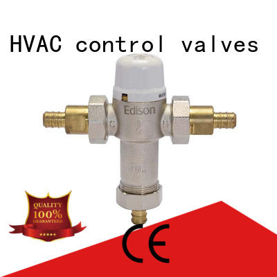 Edison thermostatic temp control shower valve series for hotels
