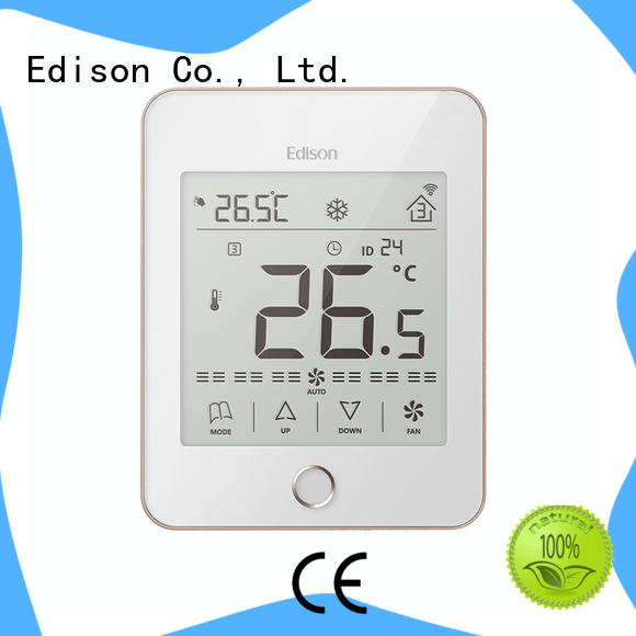 Edison touch ac thermostat room for apartments