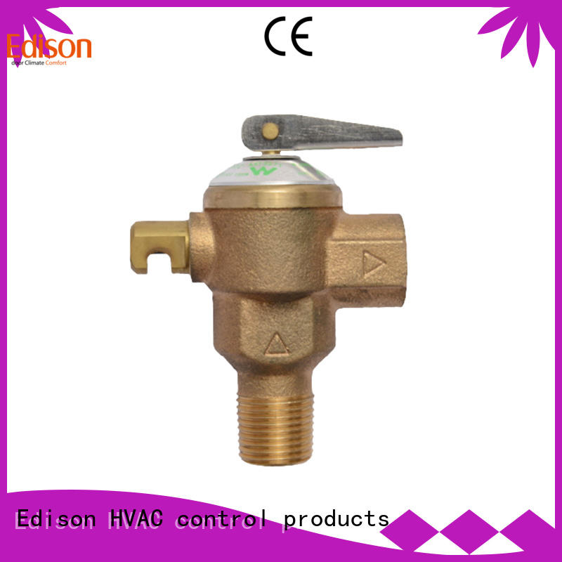 temperature and pressure relief valve pressure boilers tp valve Edison Brand