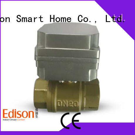 Edison valve motorised ball valve with high-temperature resistance for shop