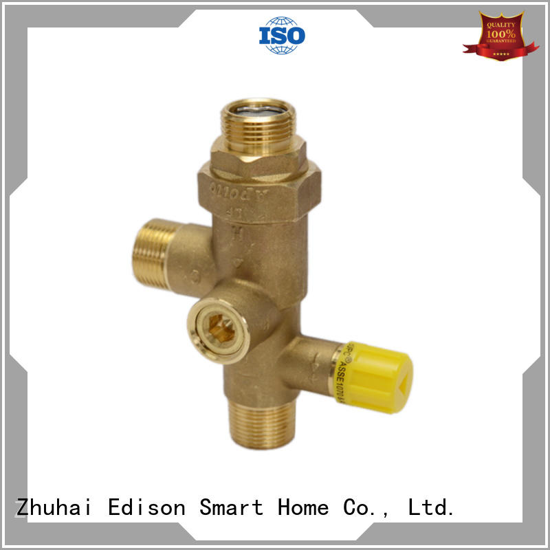 Edison solar tempered valve wholesale for hotels