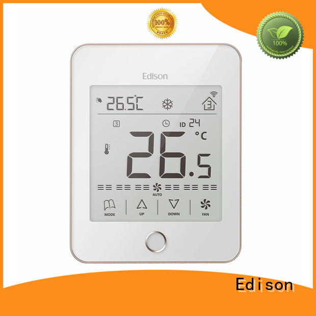 Edison room wlan thermostat wholesale for larger family homes