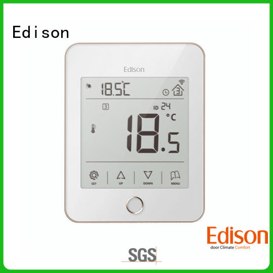 room heating room thermostat supplier for hardware store Edison