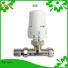 Edison high quality angled radiator valves straight for shopping malls