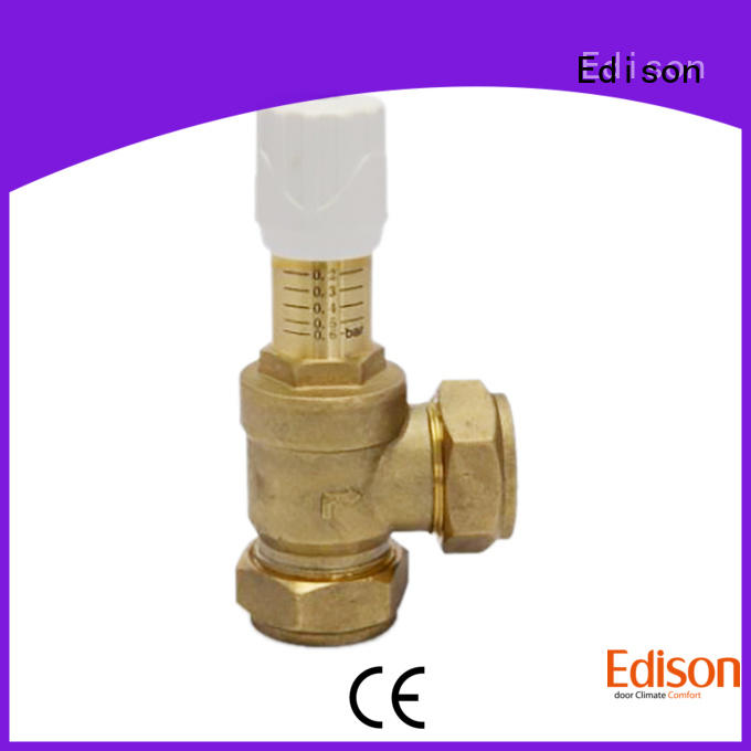 Edison high quality by-pass valve manufacturer for industry