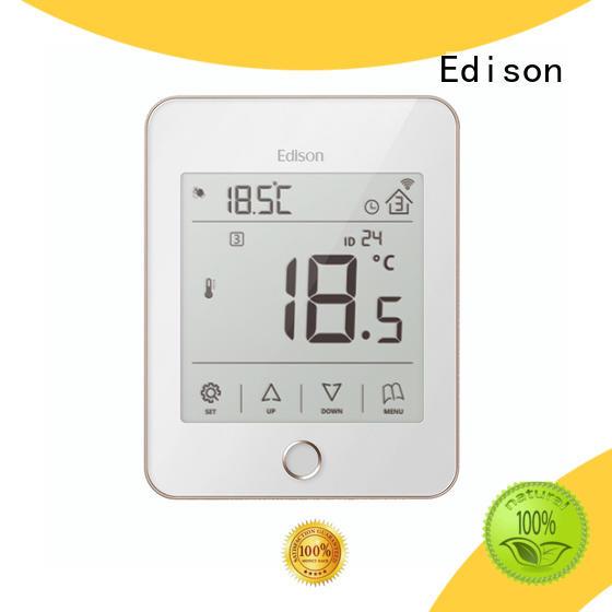Edison room underfloor heating thermostat manufacturer for hardware store