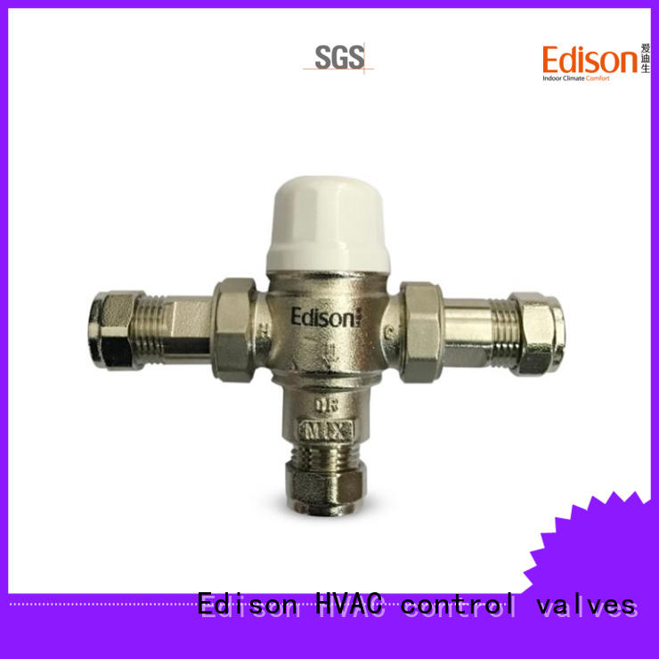 Edison function temperature valve series for hotels