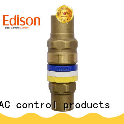 Edison pressure water bypass valve production for hardware store