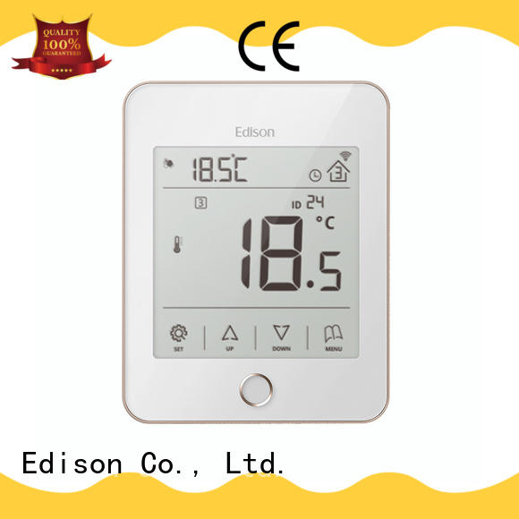 Edison online heat only thermostat quality for hardware store