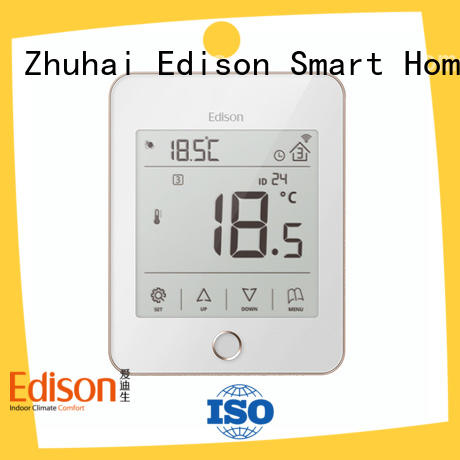 Edison high quality central heating thermostat manufacturer for industry