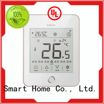 Edison touch wlan thermostat screen for hotels