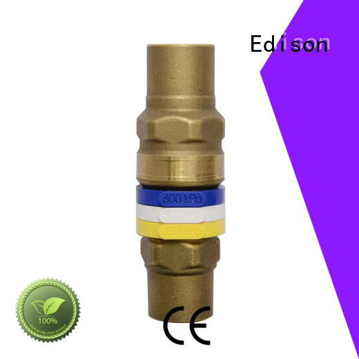 Edison limiting pressure bypass valve series for hardware store