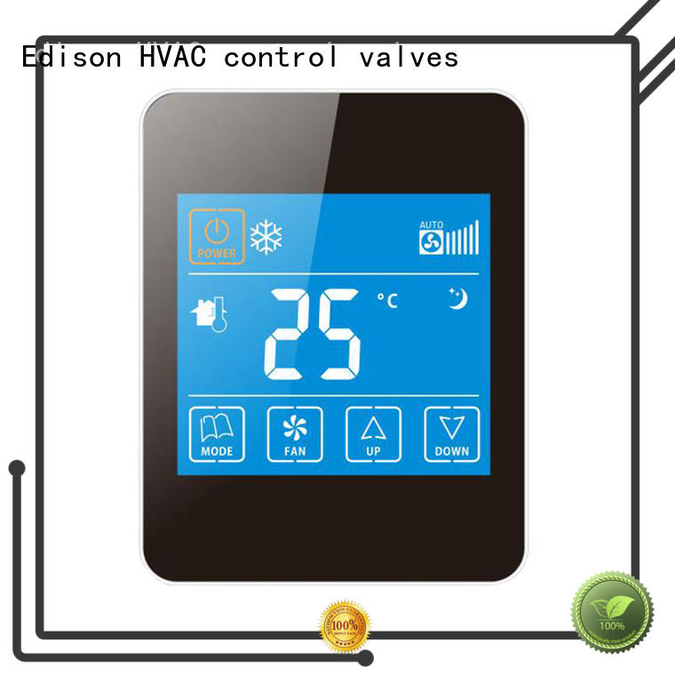 Edison durable programmable thermostat ac for hotels
