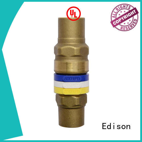 Edison drain by-pass valve series for industry