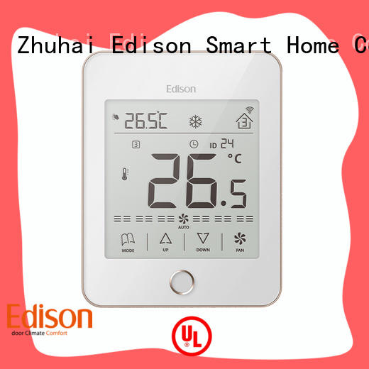 Edison touch wlan thermostat wholesale for larger family homes