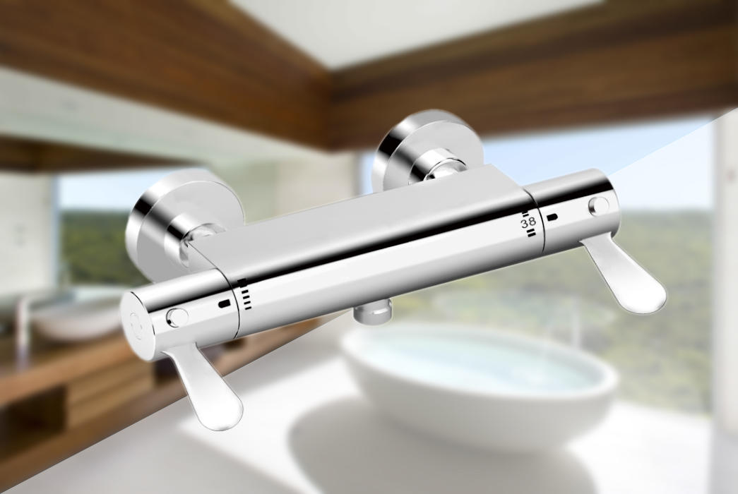 Edison heating bath taps with shower mixer for industry-1