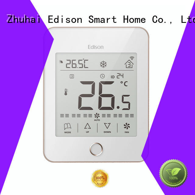 Edison touch wireless thermostat series for apartments