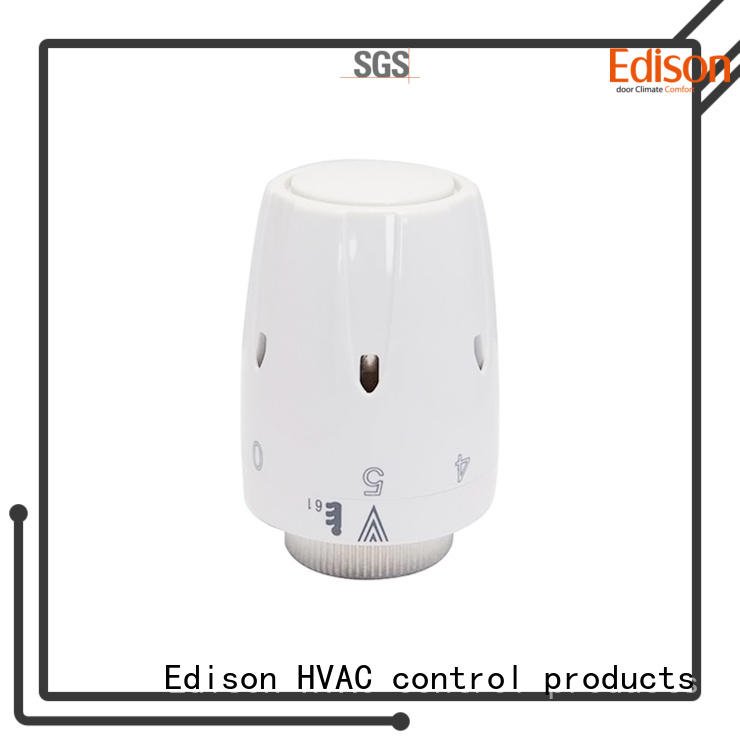 Edison thermostatic smart thermostatic radiator valves knob for apartments