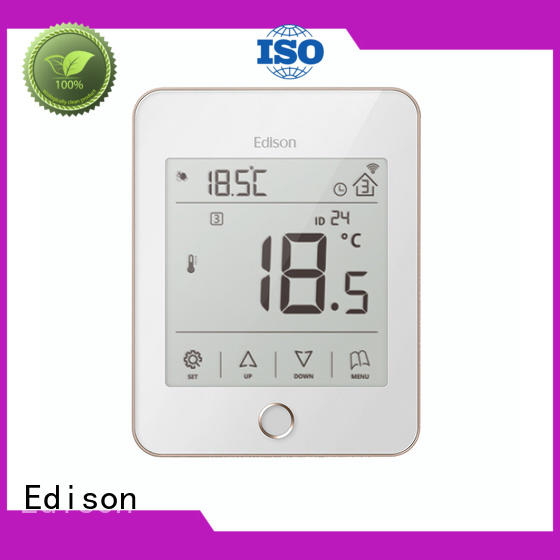 Edison thermostat heat only thermostat series for electric heating control system