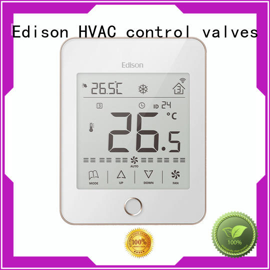 Edison room thermostats series for hotels