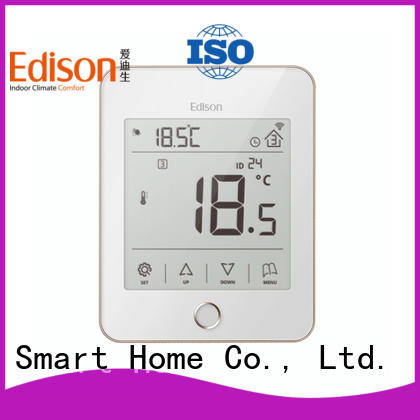 Edison quickly cheap thermostat series for electric heating control system