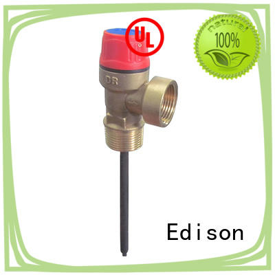 control temperature pressure relief valve supplier for boilers Edison