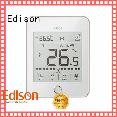 touch screen thermostat touch for hotels Edison