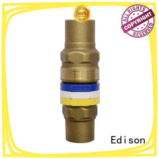 Edison high quality radiator drain off valve sale for industry