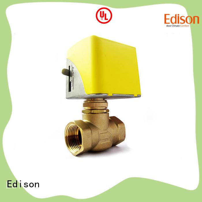 Edison valve motor operated valve supplier for shop