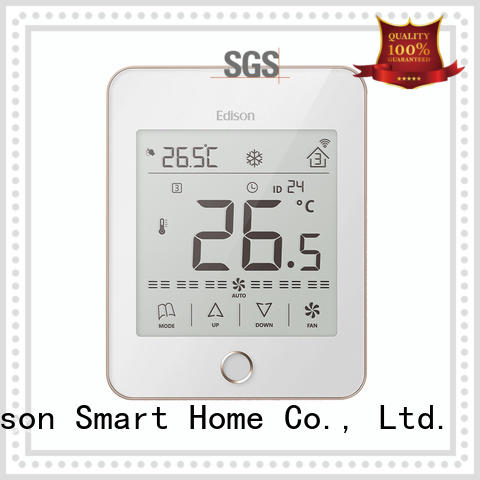 Edison durable wireless thermostat manufacturer for larger family homes